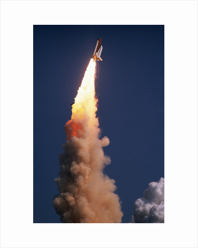Space Shuttle Discovery Launch by Corbis
