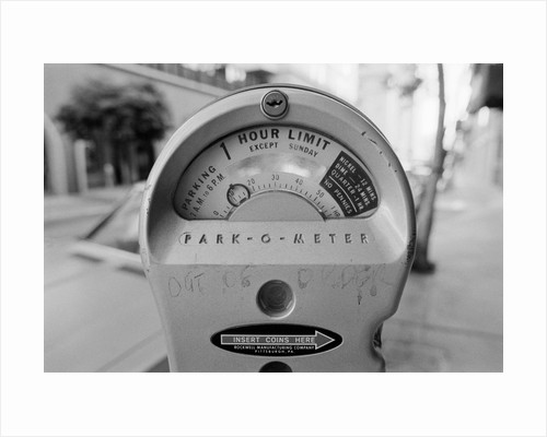 Close-up View of Parking Meter by Corbis