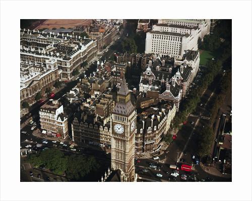 Aerial View of Big Ben by Corbis