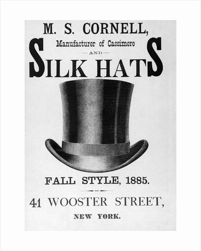 Advertisement for Top Hat by Corbis