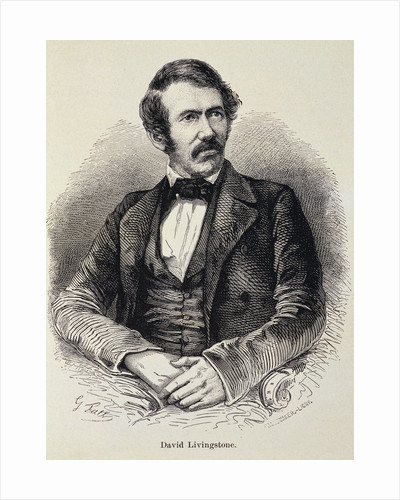 Portrait of David Livingstone by Corbis