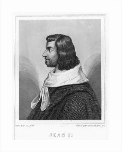 John II by Auguste II Jean Baptiste Marie Blanchard