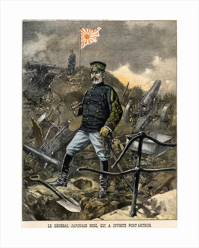 The Japanese General Nogi, Who Besieged Port Arthur Illustration in La Croix Illustree by Corbis