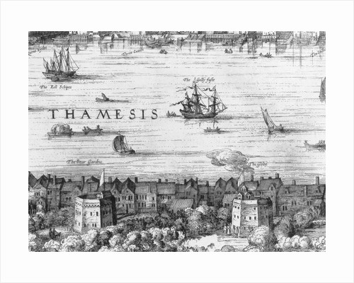 17th Century View of London by Corbis