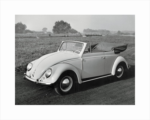 Lone Volkswagen and Field by Corbis