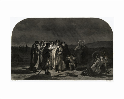 Night Council Meeting at Fort Necessity by Corbis
