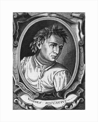 Father Of Italian Prose Boccaccio by Corbis