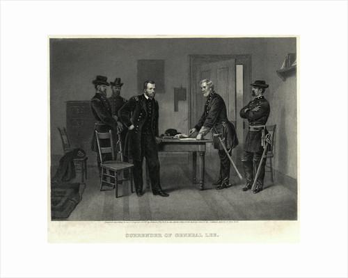 Surrender of General Lee Illustration by Corbis
