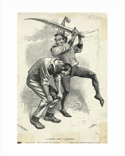 Caricature Of Candidate William Bryan by Corbis