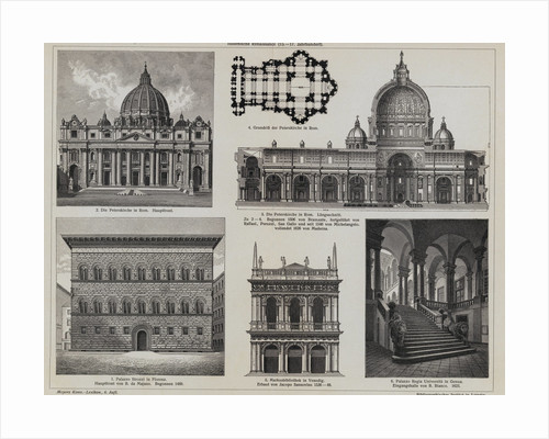 Collected Illustrations of Architecture by Donato Bramante