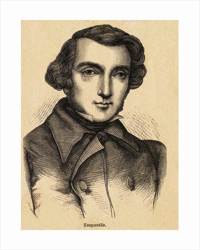 Portrait of French Politician Alexis de Tocqueville by Corbis