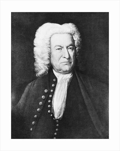 Johann Sebastian Bach in Stern Pose by Corbis