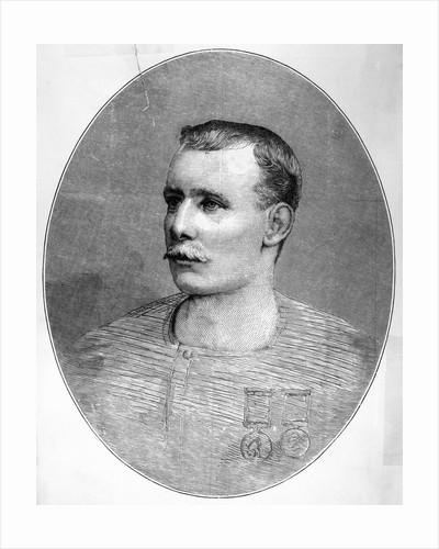 Portrait of Early Swimmer Mathew Webb by Corbis