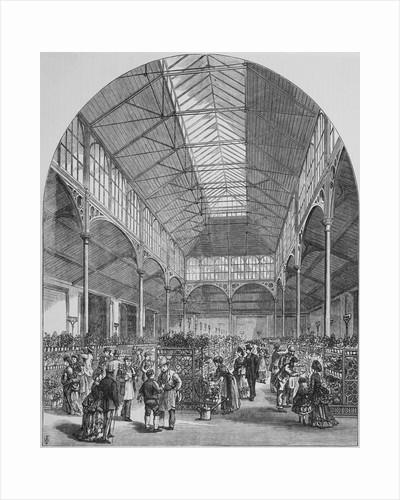 Victorian Flower Market by Corbis