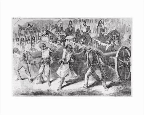 British Executing During Sepoy Revolt by Corbis