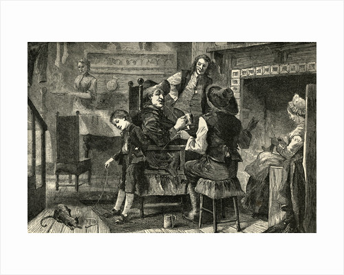 Dutch Household in New Amsterdam by Corbis