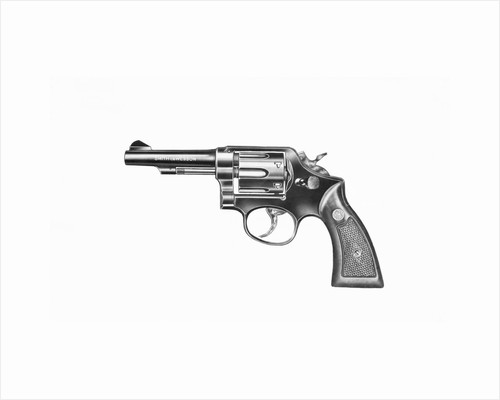 Display of a Smith and Wesson Pistol by Corbis