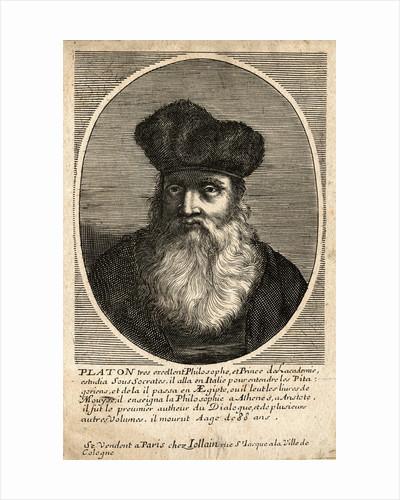 Portrait of Plato by Corbis