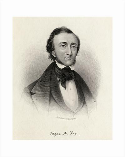 Portrait of Poet Edgar Allan Poe by Corbis