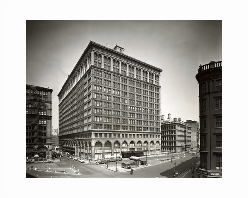 Trading Center on Astor Place by Corbis
