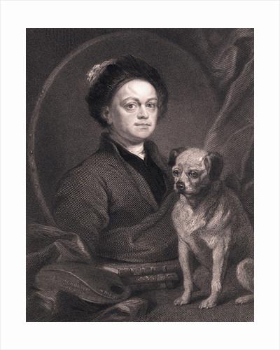 Portrait of William Hogarth by Corbis