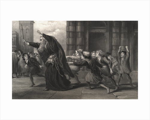 Illustration from Merchant of Venice by Corbis