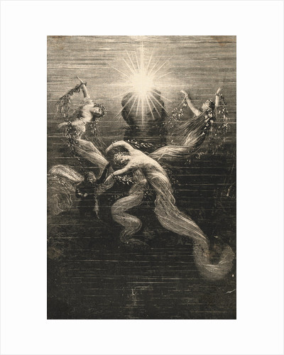 Scene from The Ring of the Nibelung by Richard Wagner