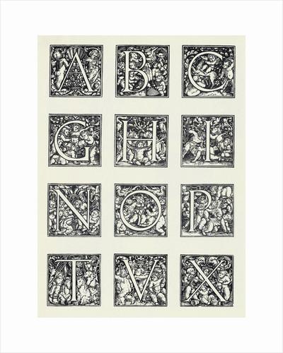 Decorative Letters by Corbis