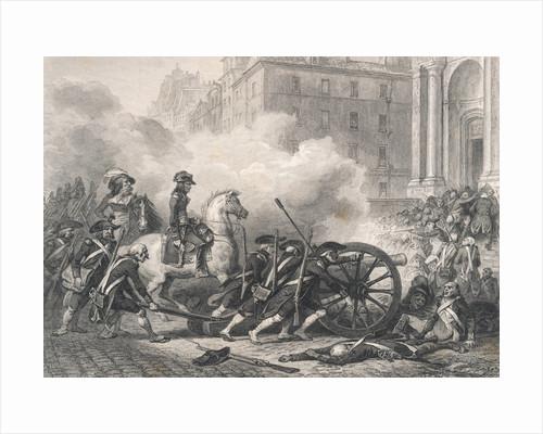 Napoleon Crushing Royalist Rebellion by Corbis