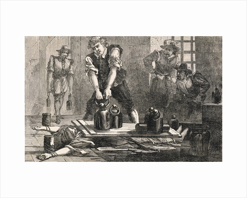 Pressing Margaret Clitheroe to Death by Corbis