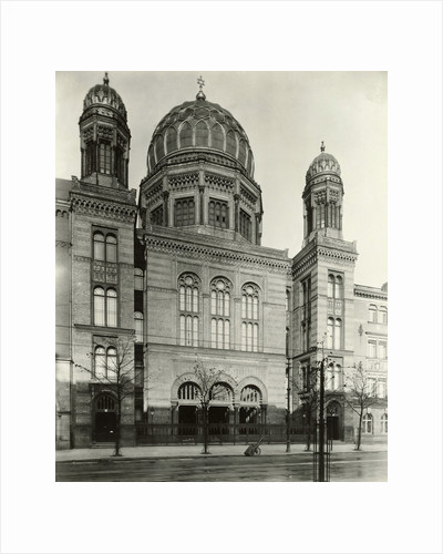 Exterior View of Synagogue by Corbis