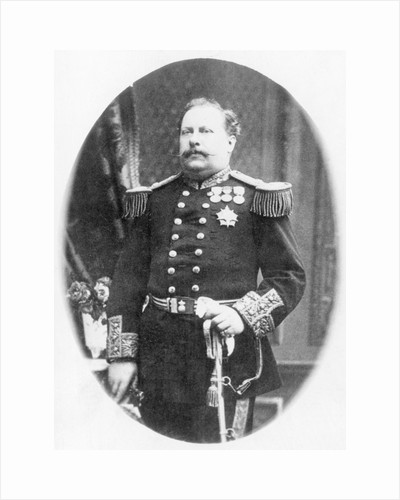 King Luis I of Portugal in Uniform by Corbis