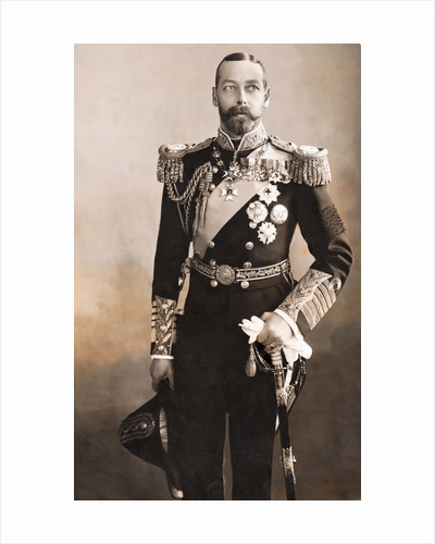 King George V in Uniform by Corbis