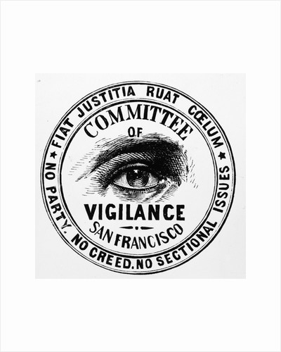Seal of the California Vigilance Committee by Corbis