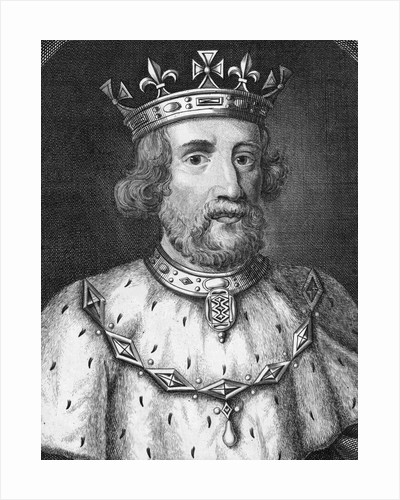 Engraving of King Edward II of England by Corbis