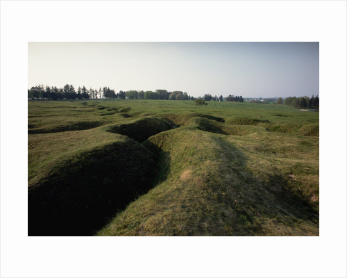 German Front Line Trenches by Corbis
