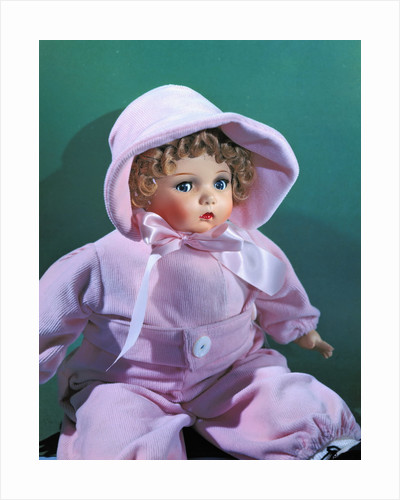Portrait of Doll Wearing Corduroy Outfit by Corbis