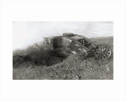 British WWI Tank by Corbis