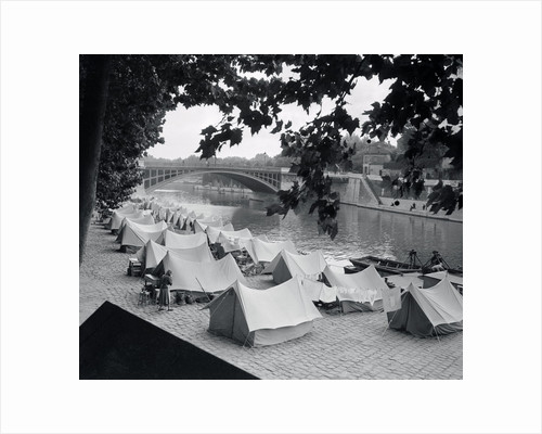 Tents Provided For the Poor by Corbis