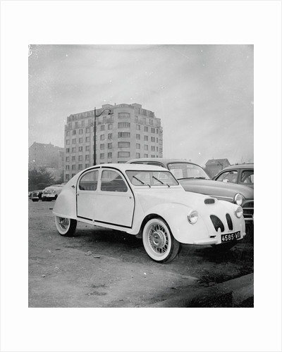 French Citroen Automobile by Corbis