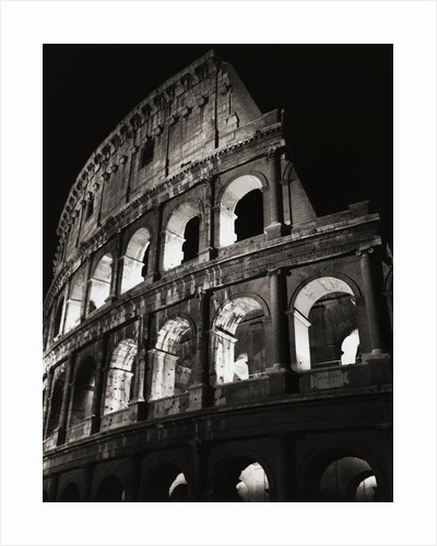 Colosseum Archways by Corbis