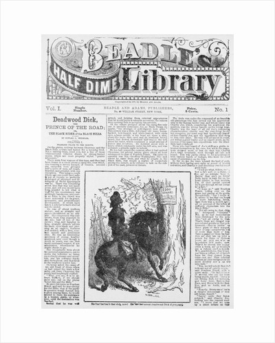 Cover of Beadle's Half Dime Library by Corbis