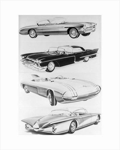 Designs of New Automobiles by Corbis