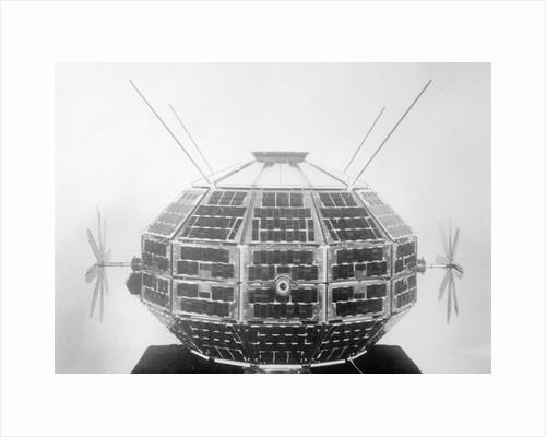 Ionospheric Research Satellite by Corbis