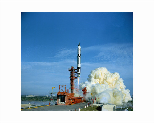 Gemini 6 Launch Attempt by Corbis