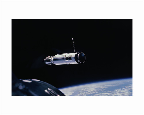 Gemini 8 Flying in Space by Corbis