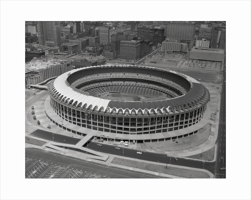 Overview of Busch Stadium by Corbis