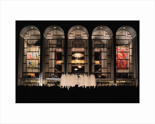 Metropolitan Opera House on Opening Night by Corbis