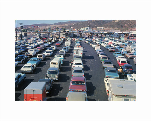 Overview of Traffic on Highway by Corbis