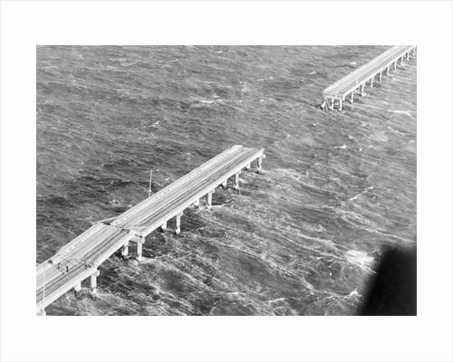 Broken Chesapeake Bay Bridge-Tunnel by Corbis